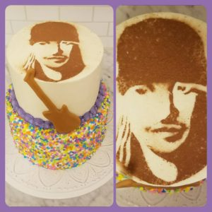 Bret Michaels Cake