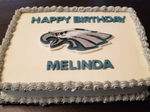 Philadelphia Eagles Cake