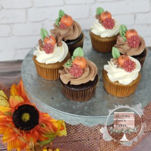 Fall cupcakes mindy port