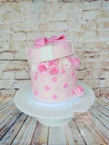 Flower box cake port