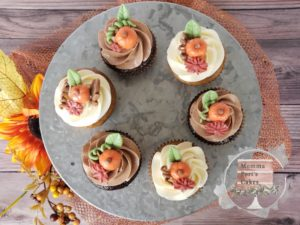 Pumpkin cupcakes mindy Port_