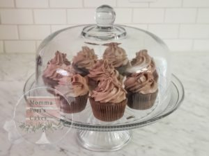 Triple chocolate cupcakes port